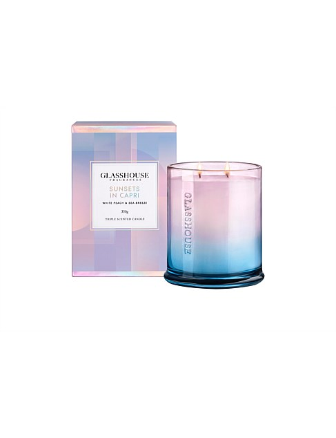 GH Sunsets in Capri LE 350G Candle
