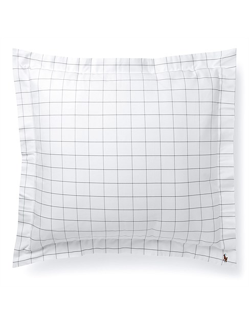 Baxter Charcoal Euro Pillowcase