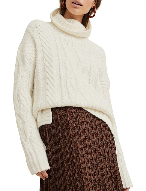 Luxe Cable Knit