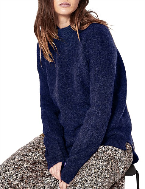 Fabienne High-Neck Pullover