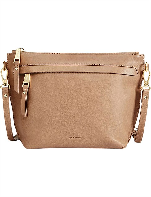 Octavia Leather Crossbody Bag