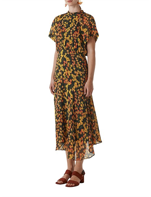 Daisy Print Stine Dress by Whistles