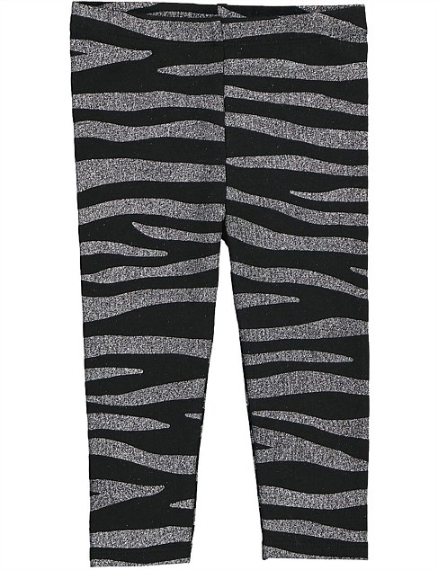 Zebra Legging (Baby Girls 0-2)