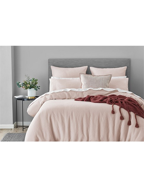 HOPKINS BLUSH KING BED QUILT COVER