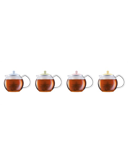 75th Colours Assam Teapot with Filter 500ML