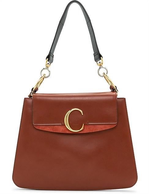 CHLOE C MEDIUM SHOULDER BAG