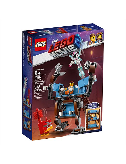 LEGO Movie 2 Emmet's Triple-Decker Couch Mech