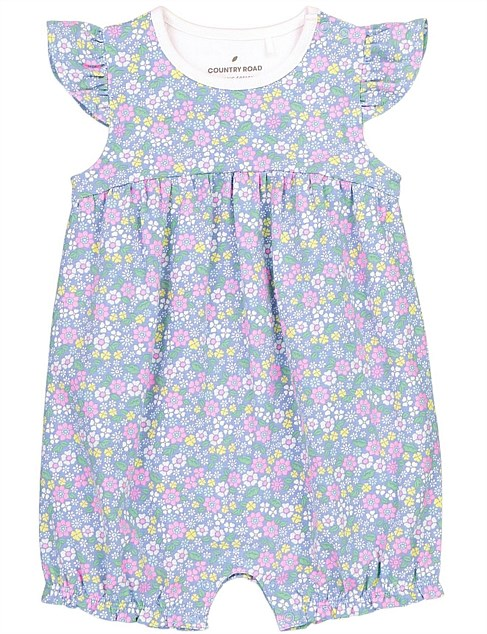 Ditsy Floral Bodysuit (Baby Girls 0-2)