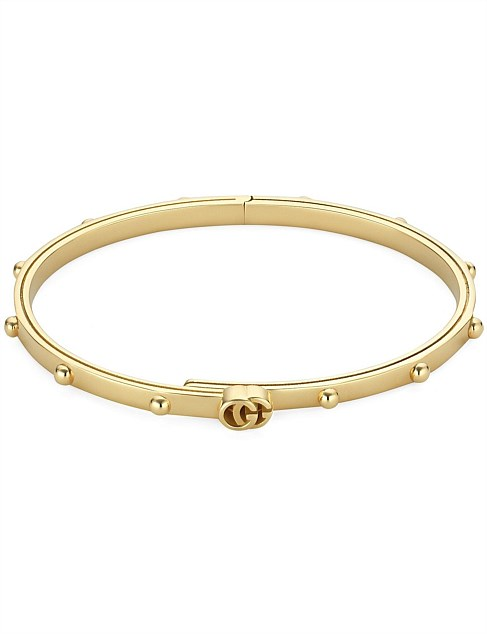 Running G 3.3mm 18kt Yellow Gold Bracelet