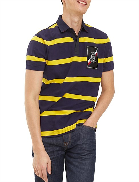 RUGBY STRIPED REGULAR POLO