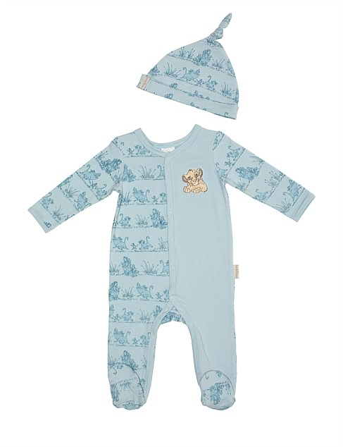 The Lion King Coverall With Hat(NB-9M)
