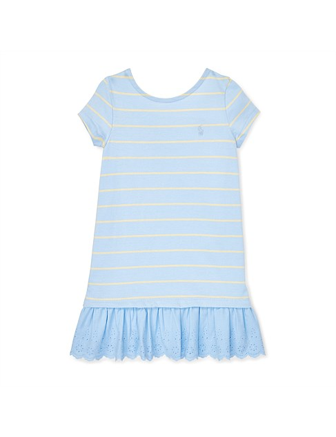 Cotton Jersey Tee Dress (2-7 Years)