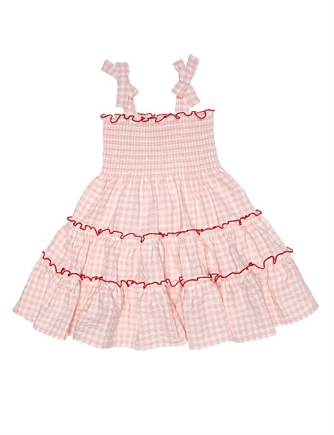Harper Tiered Dress (Girls 3-7)