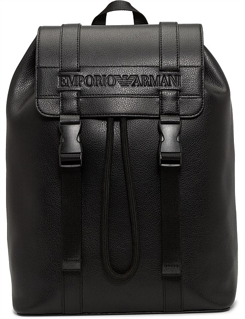 EMBOSSED STRIPE BACK PACK