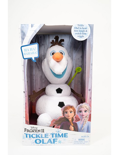Frozen 2 Tickle Time Olaf Feature Plush