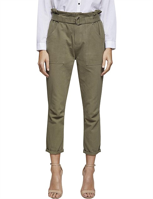 HOULIHAN PANTS WITH BELTS