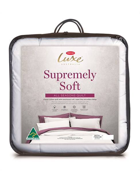 Supremely Soft All Seasons Queen Quilt