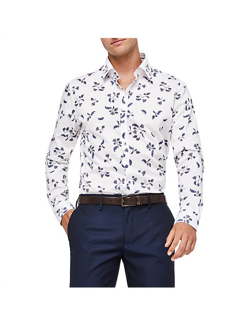 Pisa Slim Fit Floral Shirt