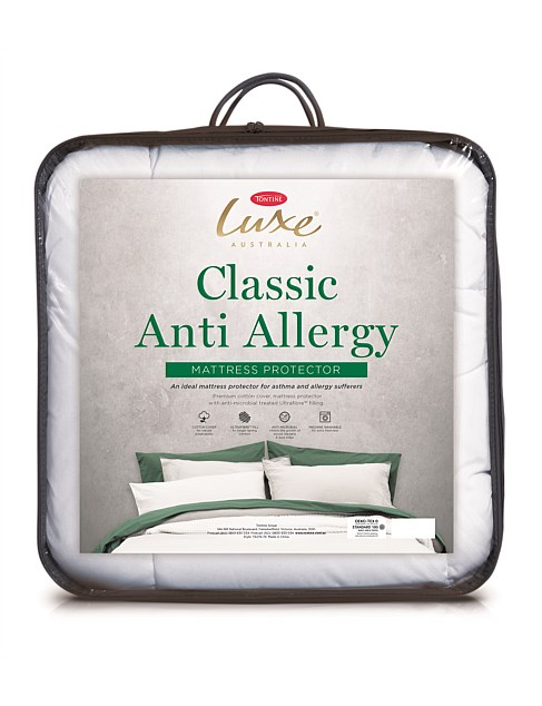 Luxe Anti-Allergy Queen Mattress Protector