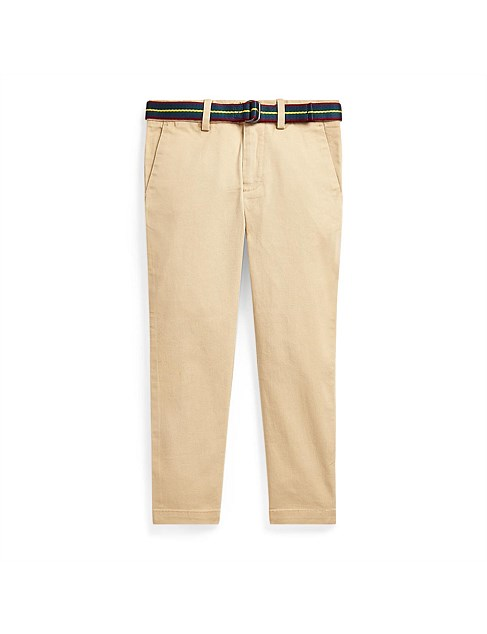 Belted Super Skinny Chino Pant (2-4 Years)
