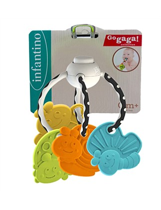 Chew & Clutch Teether Activity Toy
