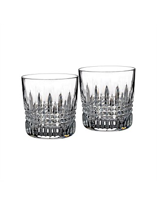 Lismore 9 oz. Double Old Fashioned Tumbler Pair