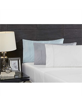 Echelle White Queen Sheet Set
