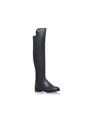 Carvela-Pacific-Black- Knee High Boot