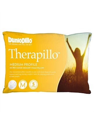 Therapillo Medium Proflie Memory Foam Pillow