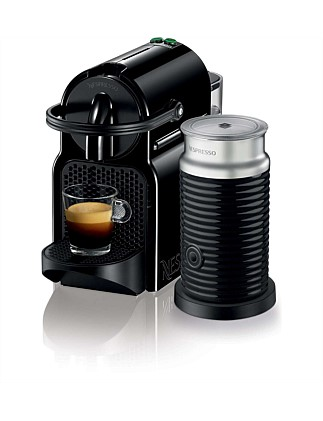 NESPRESSO EN80BAE Inissia Coffee Machine Bundle Black