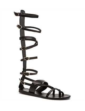 Knee High Buckle Strap Gladiator
