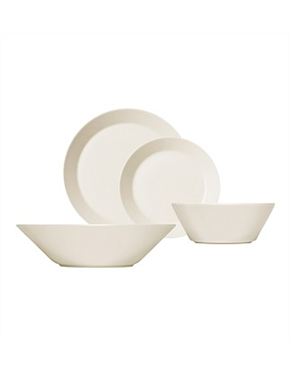Teema White 16pc Dinner Set