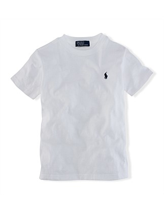 df75f7fbe Cotton Jersey Crewneck T-Shirt (2-7 Years). Polo Ralph Lauren