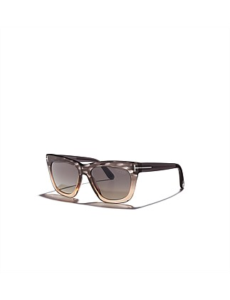"""CELINA"" LADIES SQUARE ACETATE SUNGLASS"