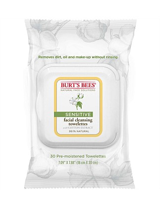 Sensitive Facial Cleansing Wipes -
