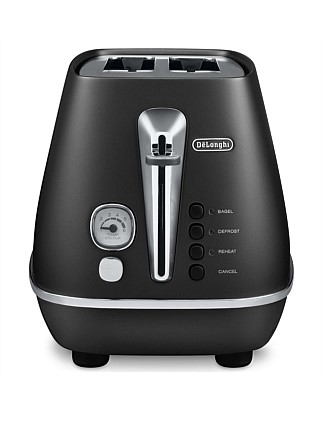 Distinta 2-Slice Toaster in Black CTI2003BK