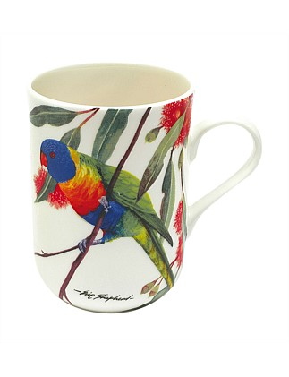 Birds Of Australia Rainbow Lorikeets Mug