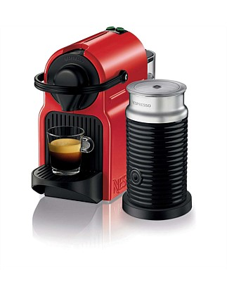 NESPRESSO BEC200XR Inissia Coffee Machine Red