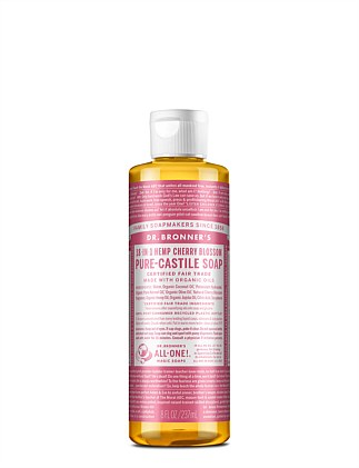 Liquid Castile Soap 237ml - Cherry Blossom