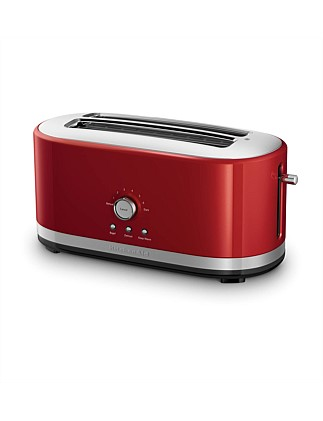 KMT4116 4 Slice Long Slot Toaster - Red