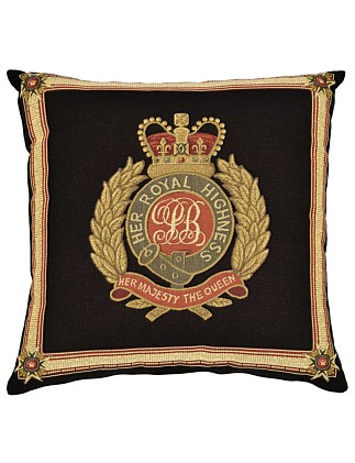 Her Royal Highness Tapestry Cushion