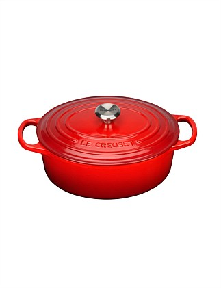 Signature Cast Iron Oval Casserole 25cm/3.2L
