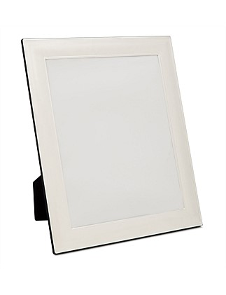 "Silver Plated' Metal Photo Frame, 8 x10""/ 20 x 25 cm"