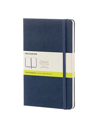 Hardcover Notebook Plain Large