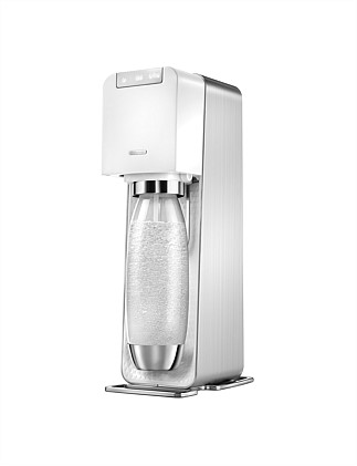 Source Power Sparkling Water Maker White