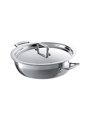 3PLY Stainless Steel Casserole 24cm