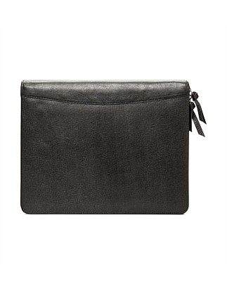 Saffiano Zip Around Folio