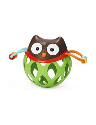 Owl Grab Rattle