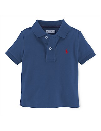 9164cb975ce30b Solid Basic Mesh Polo (0-24 Months) Special Offer. NAVY  White. Polo Ralph  Lauren