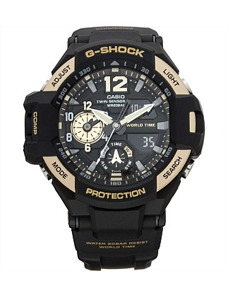 G Shock Gravity Master, Twin Sens